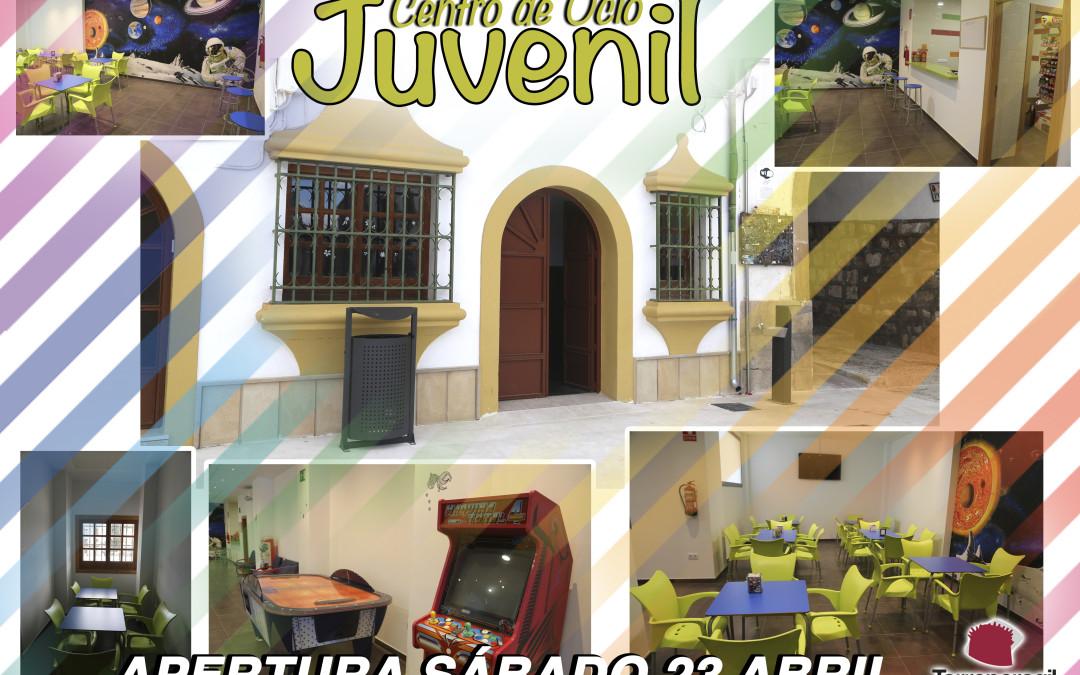 EL CENTRO DE OCIO JUVENIL ABRE SUS PUERTAS