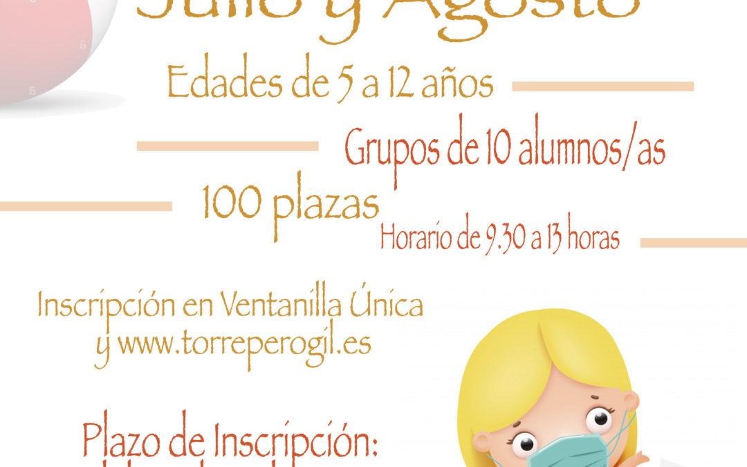 INSCRIPCIÓN ESCUELA DE VERANO TORREPEROGIL